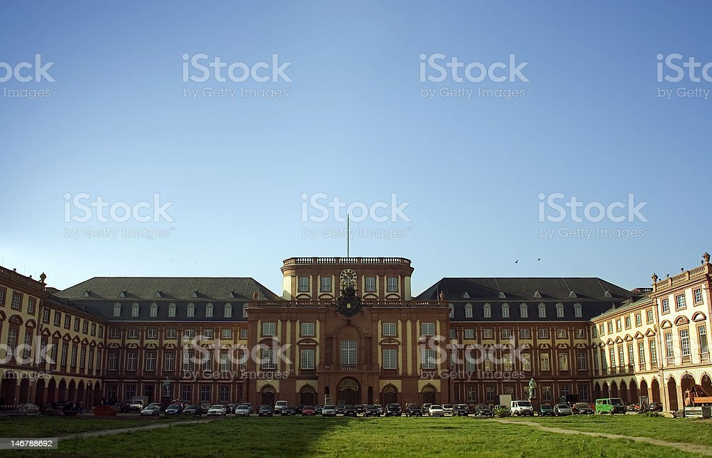 german castle stock photo