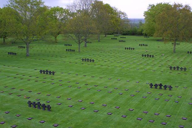 German cemetery in Normandy