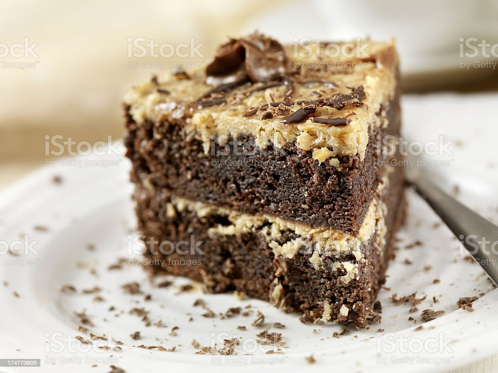 German Chocolate Cake stock photo