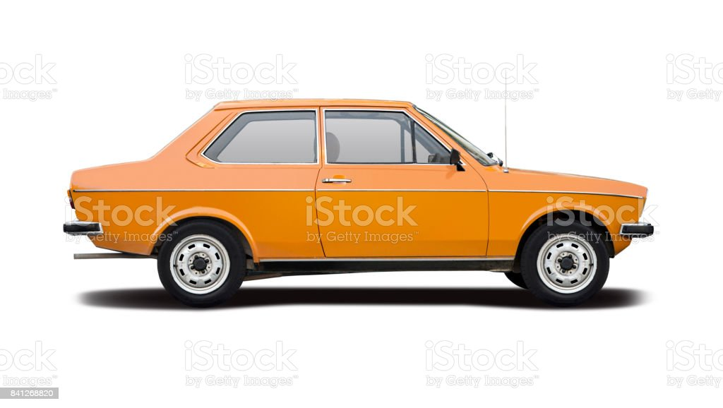 German classic car stock photo