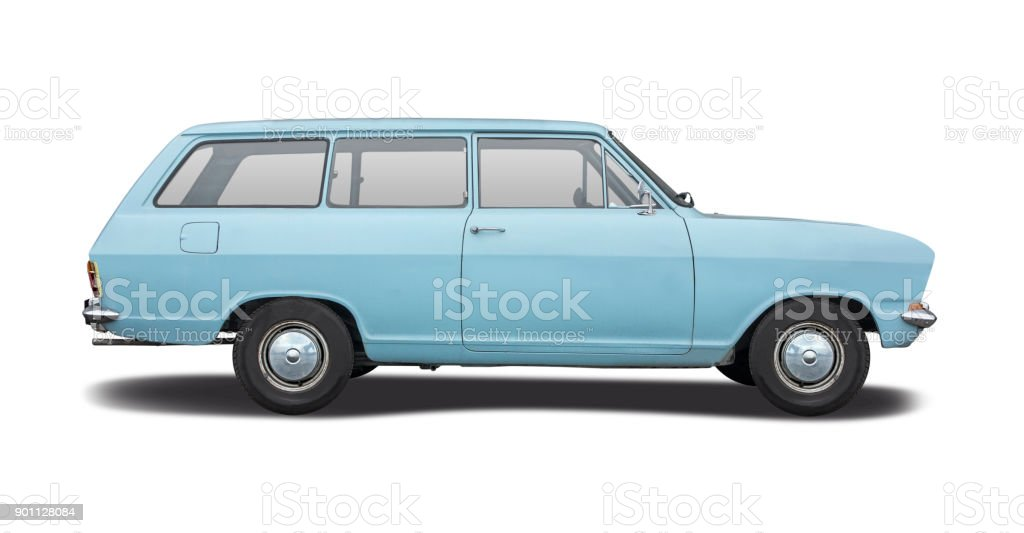 German classic car stock photo