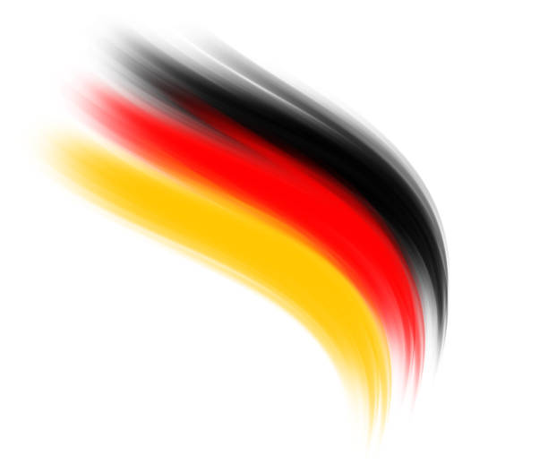 german colors - abstract logo stock photos and pictures