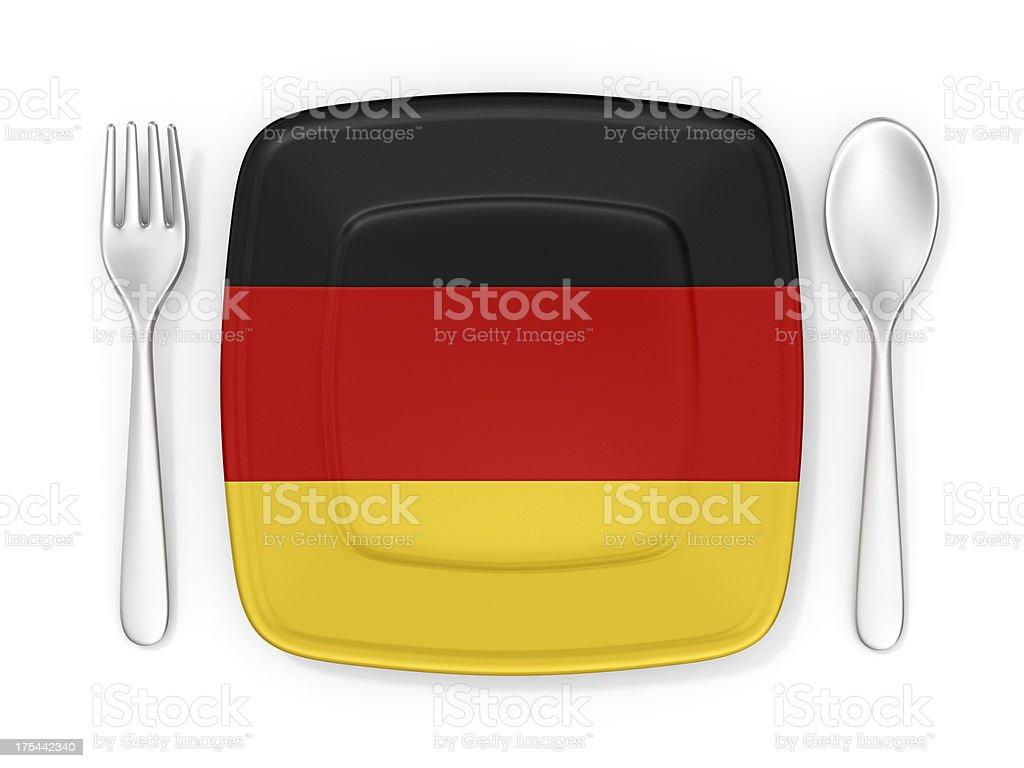 german cuisine royalty-free stock photo