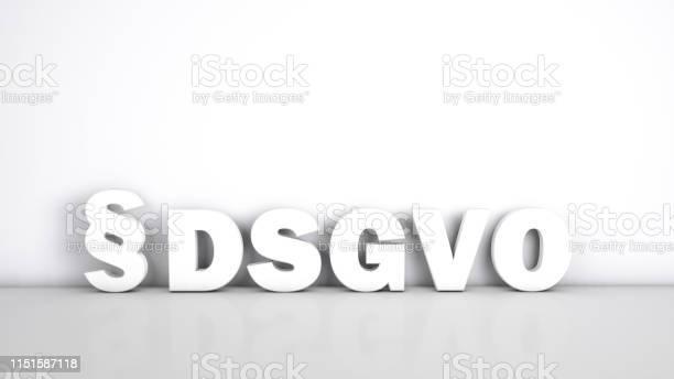 Deutsches Dsgvokonzept Stockfoto und mehr Bilder von Datenschutz-Grundverordnung