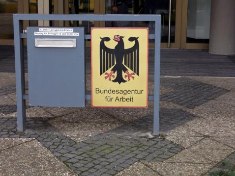 Deutsche Beschäftigung Centerhauptsitz Briefkasten Stockfoto und mehr Bilder von Anwerbung