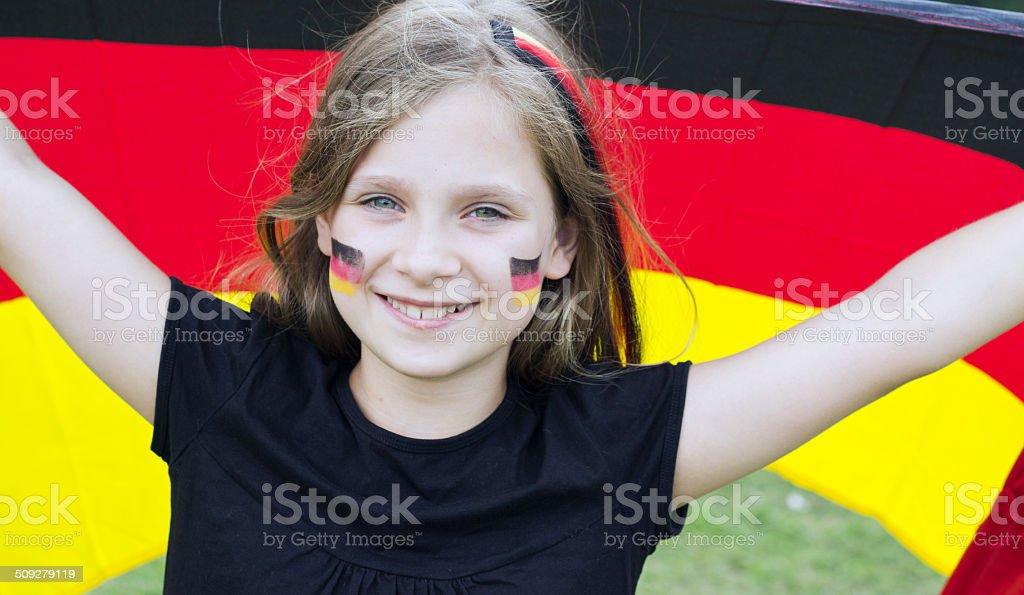 Deutscher fan – Foto