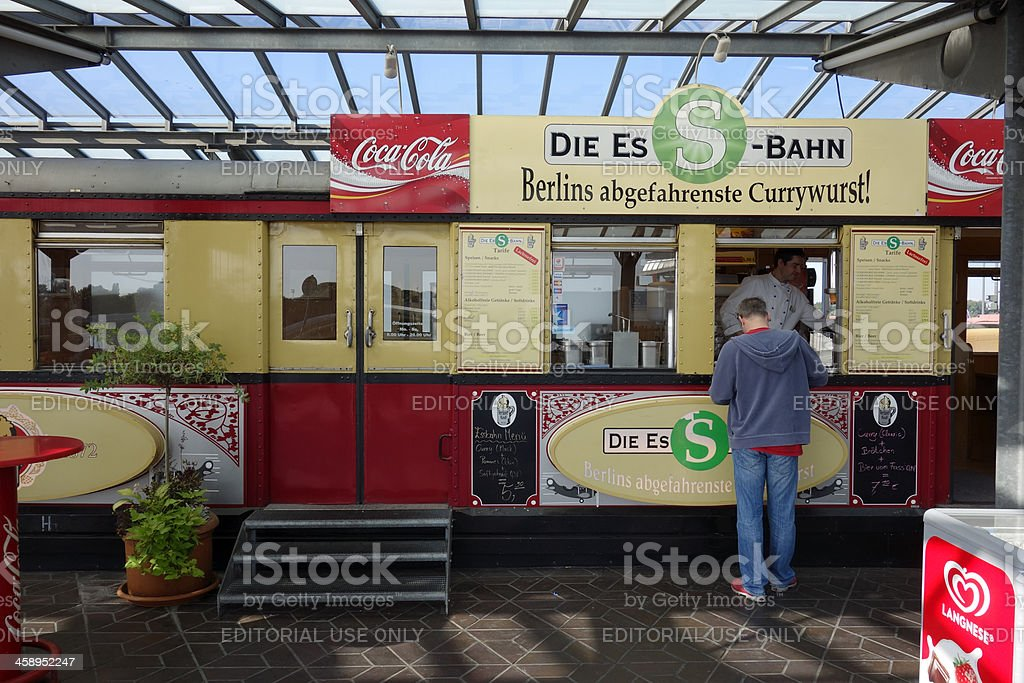 German fast food stock photo