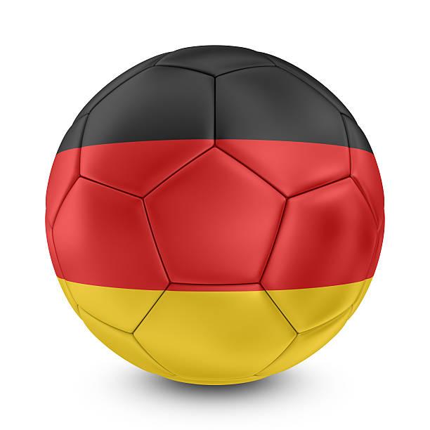 Cтоковое фото Немецкий Флаг Футбол