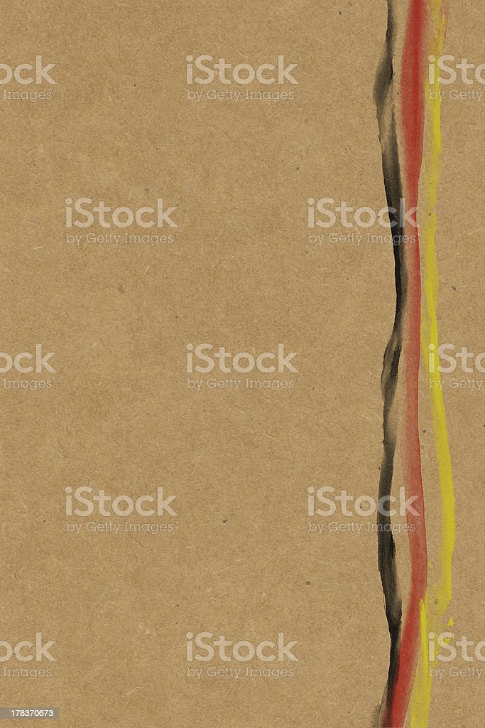 German Flag paper royalty-free stock photo
