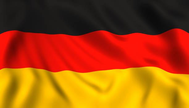 drapeau allemand symbole de l'allemagne - drapeau allemand photos et images de collection