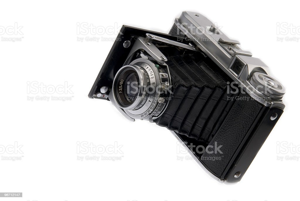 German Folding Camera stock photo