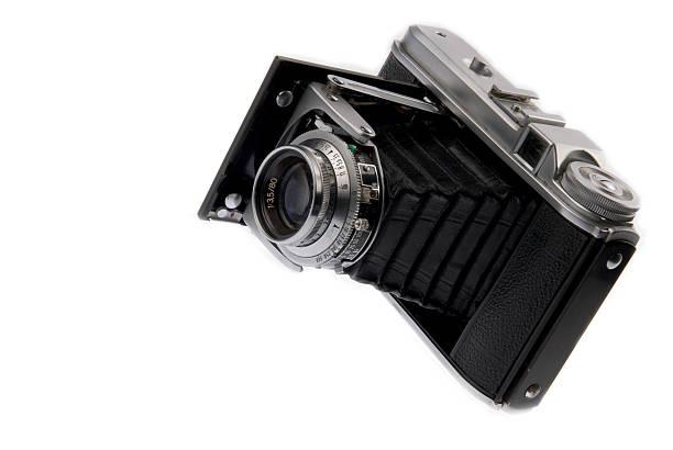 German Folding Camera stock photo