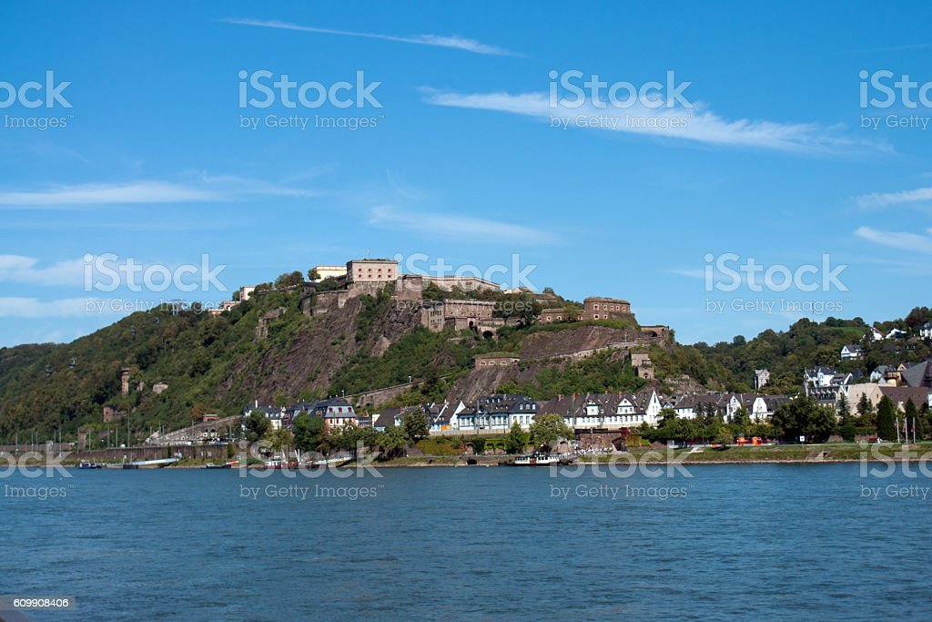 German fortress stock photo