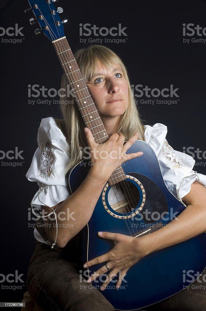 German girl royalty-free stock photo