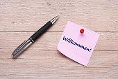istock German handwritte word