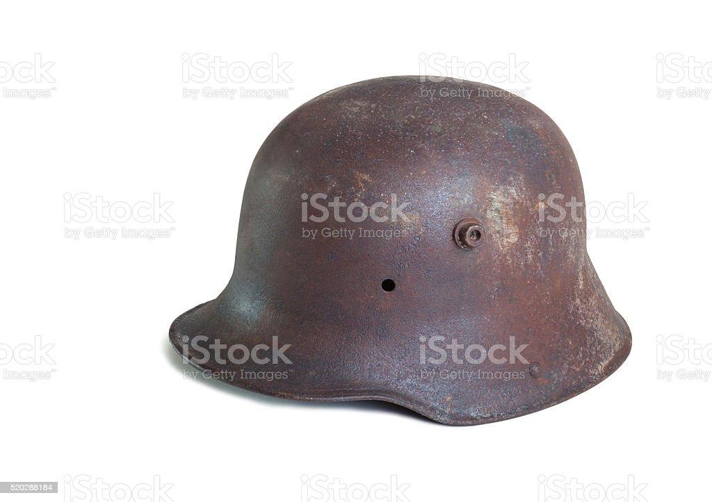 German helmet from ww1. stock photo