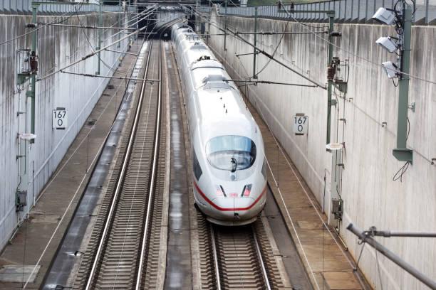 German highspeed ICE train stock photo