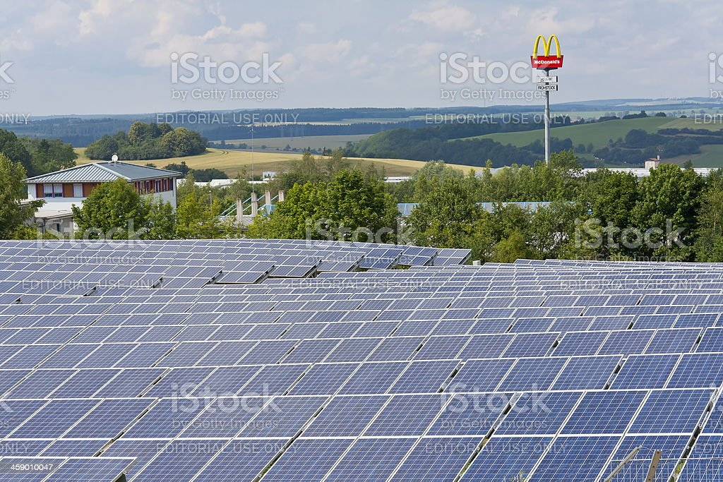 German Landscape Today stock photo