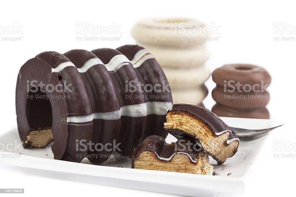 Deutsche layer cake Baumkuchen – Foto