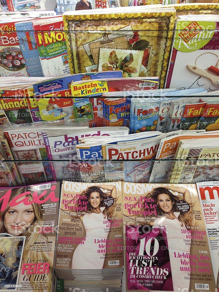 german magazines royalty-free stock photo