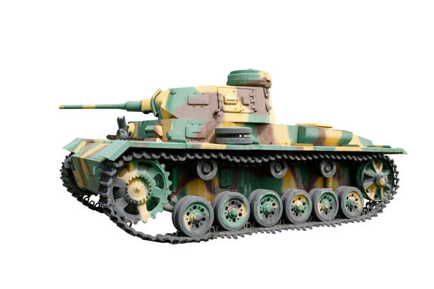 Tanque medio alemán PZ KPFW III AUSF J1 - foto de stock