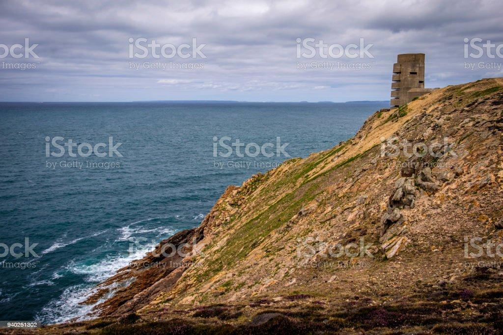 German Naval Tower MP3, Battery Moltke, St Ouen, Jersey, Channel...