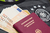 German Passport for the world cup