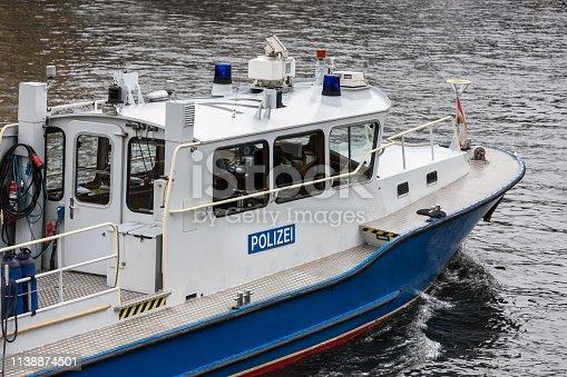 german police boat