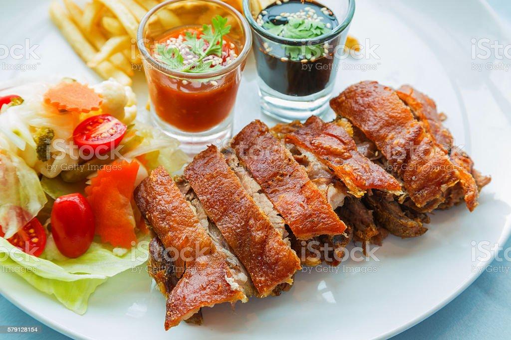 German pork stock photo