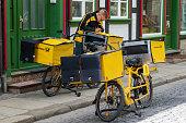 German postman Deutsche Post
