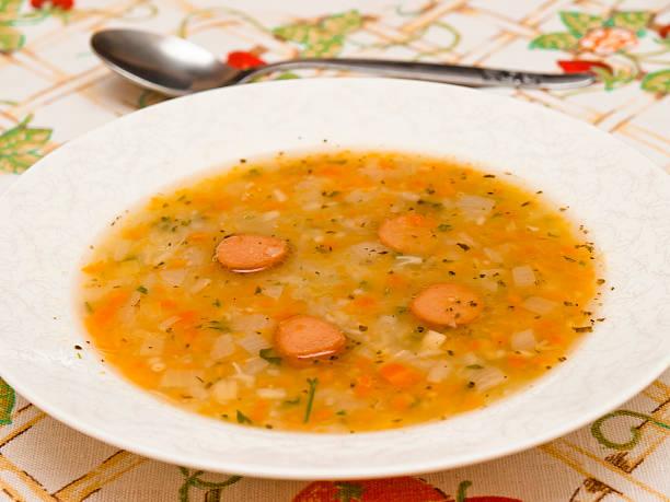 German potato soup – Foto