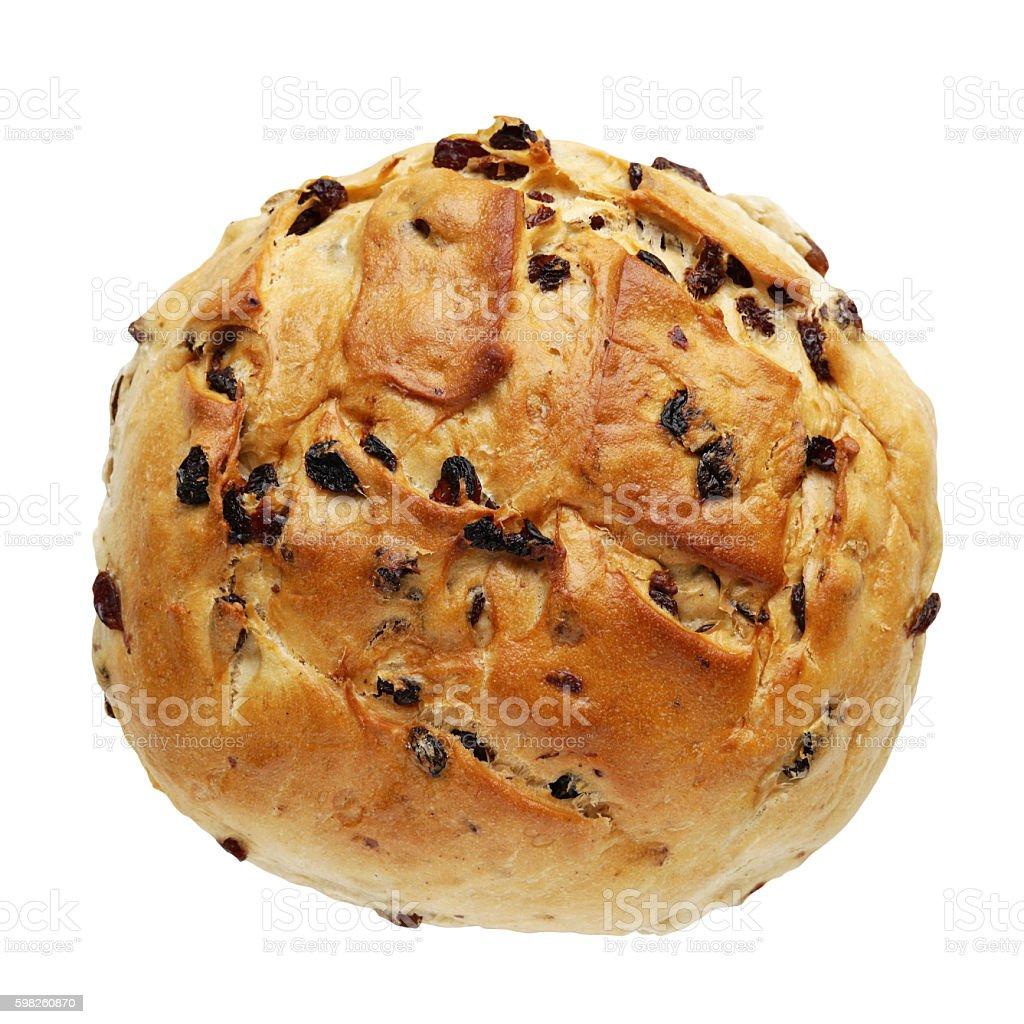 german raisin bread stock photo