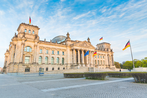 German Reichstag, the parliament building in Berlin