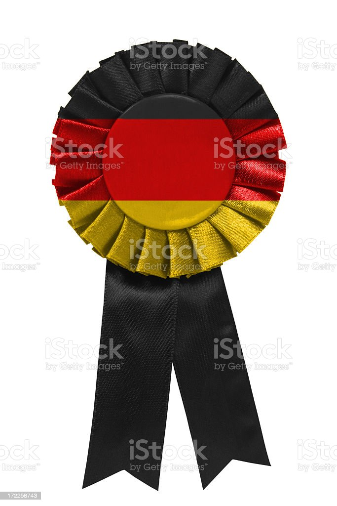 German ribbon royalty-free stock photo