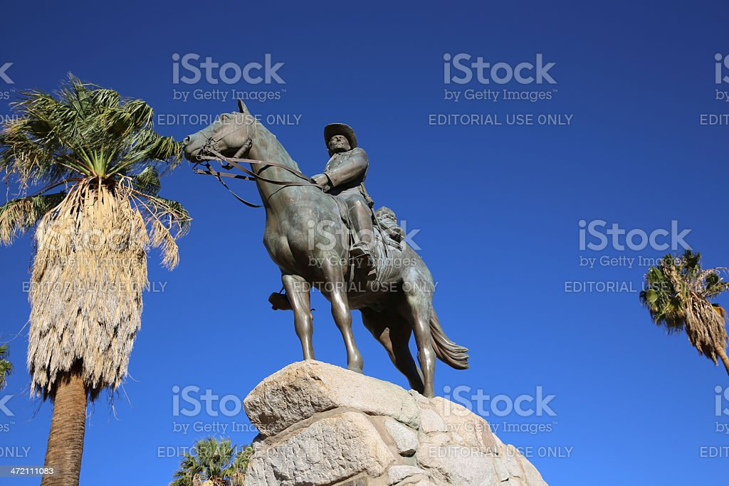 German Rider stock photo