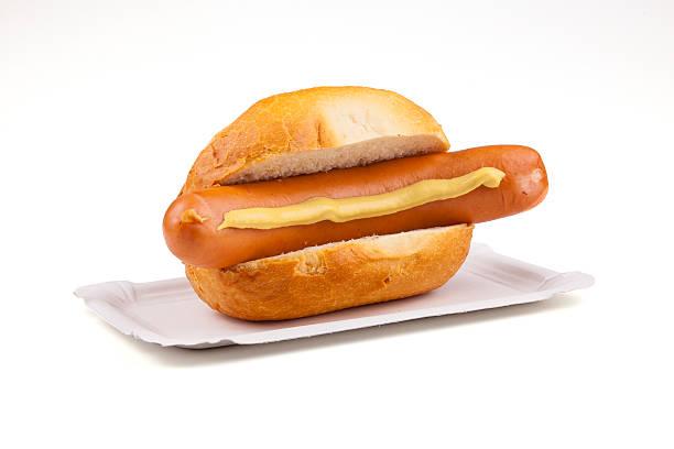 deutsche würstchen – deutsche bockwurst - desmond koch stock-fotos und bilder
