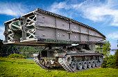 German self-propelled armored Bridgelayer