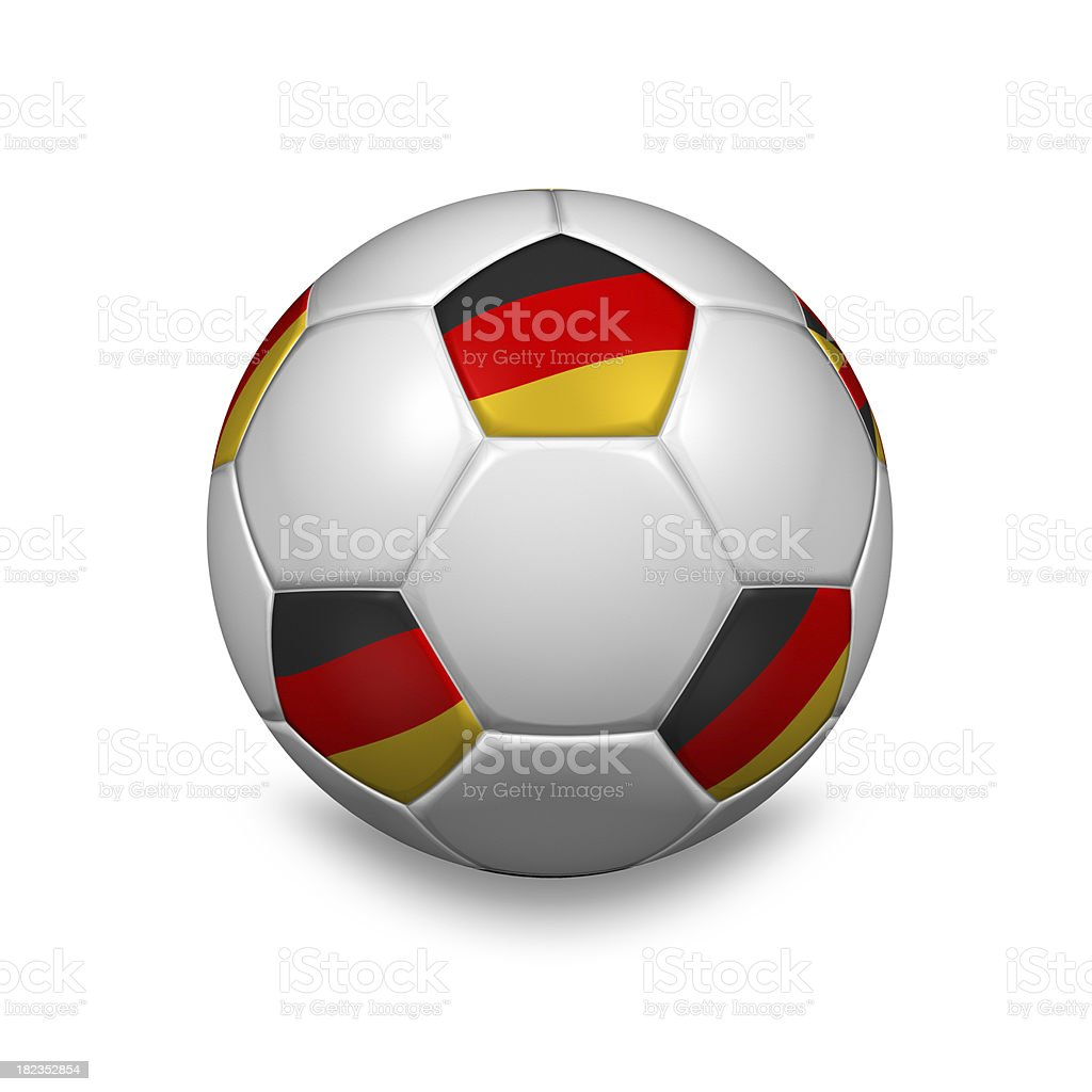 german soccer ball royalty-free stock photo