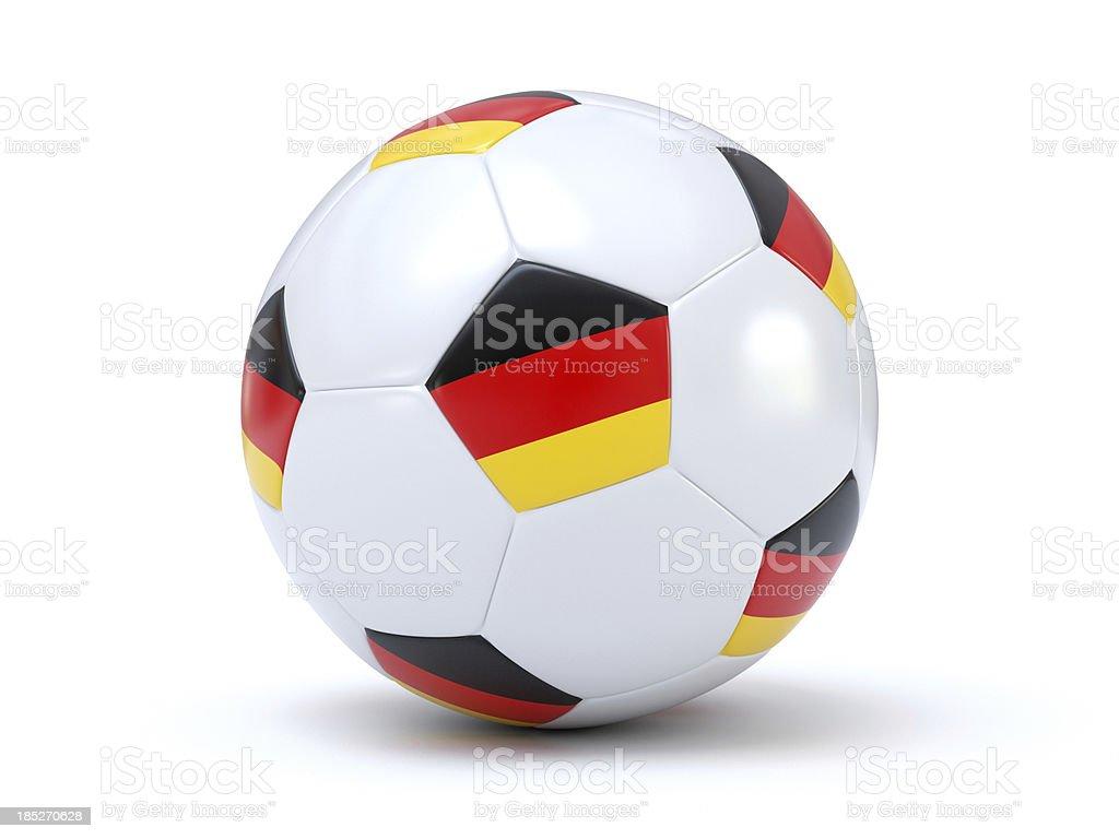 German Soccer royalty-free stock photo
