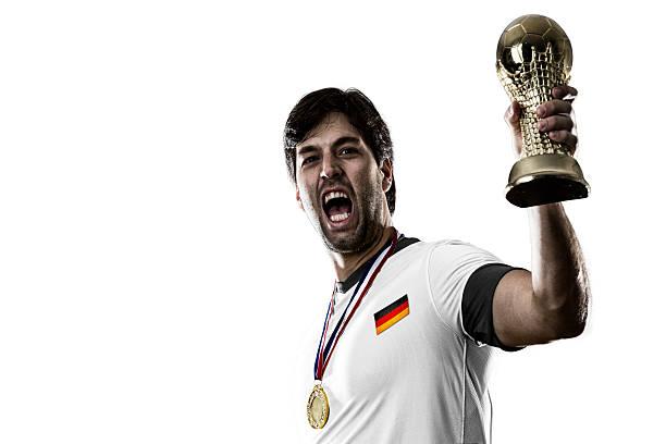 joueur de football allemand - titre mondial photos et images de collection