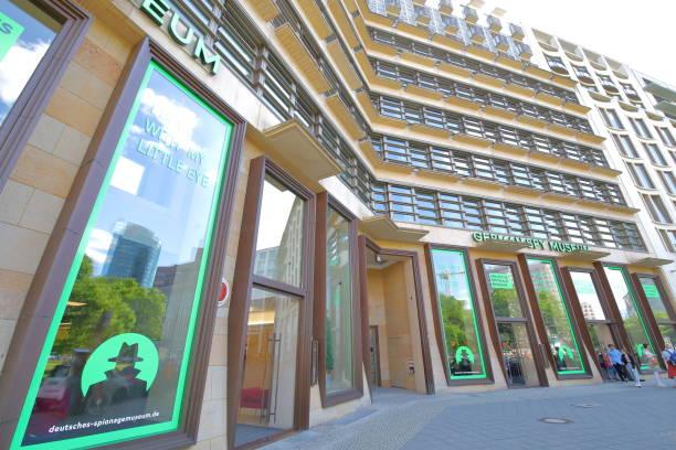 German Spy museum Berlin Germany stock photo