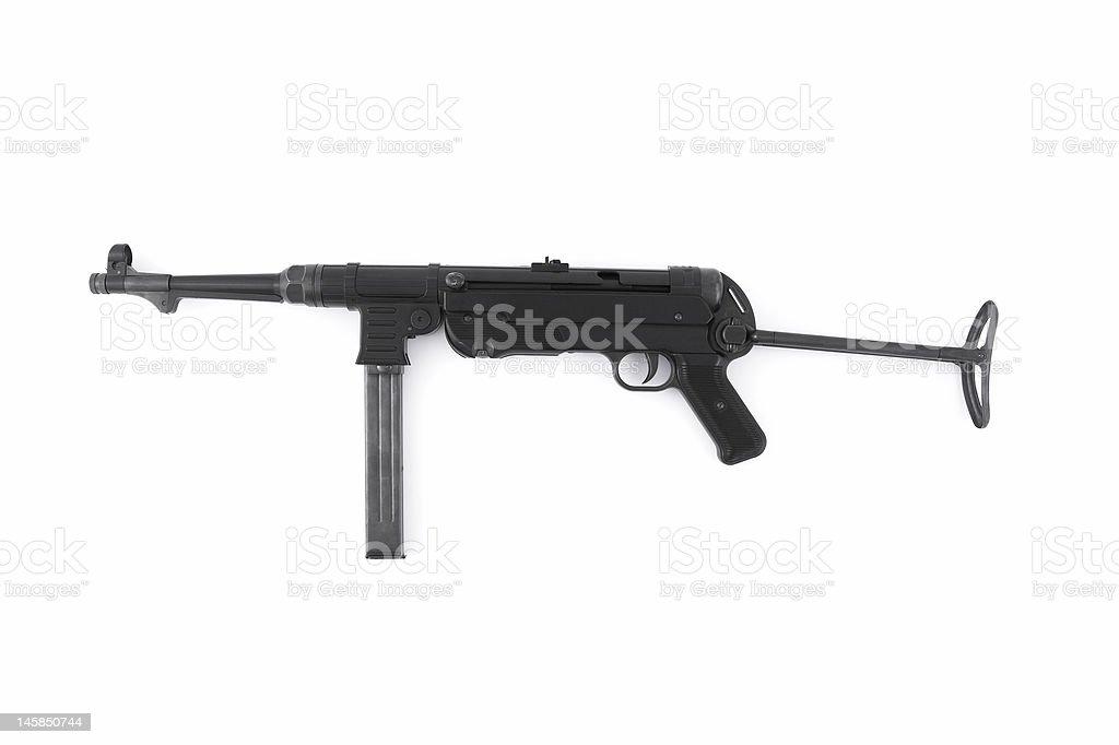 MP40 German submachine gun royalty-free stock photo
