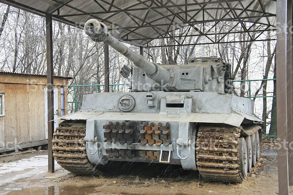 German tank stock photo