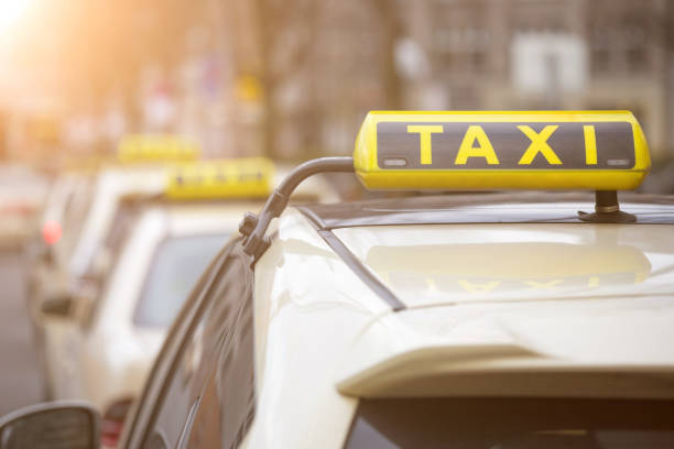 german taxi signs – Foto