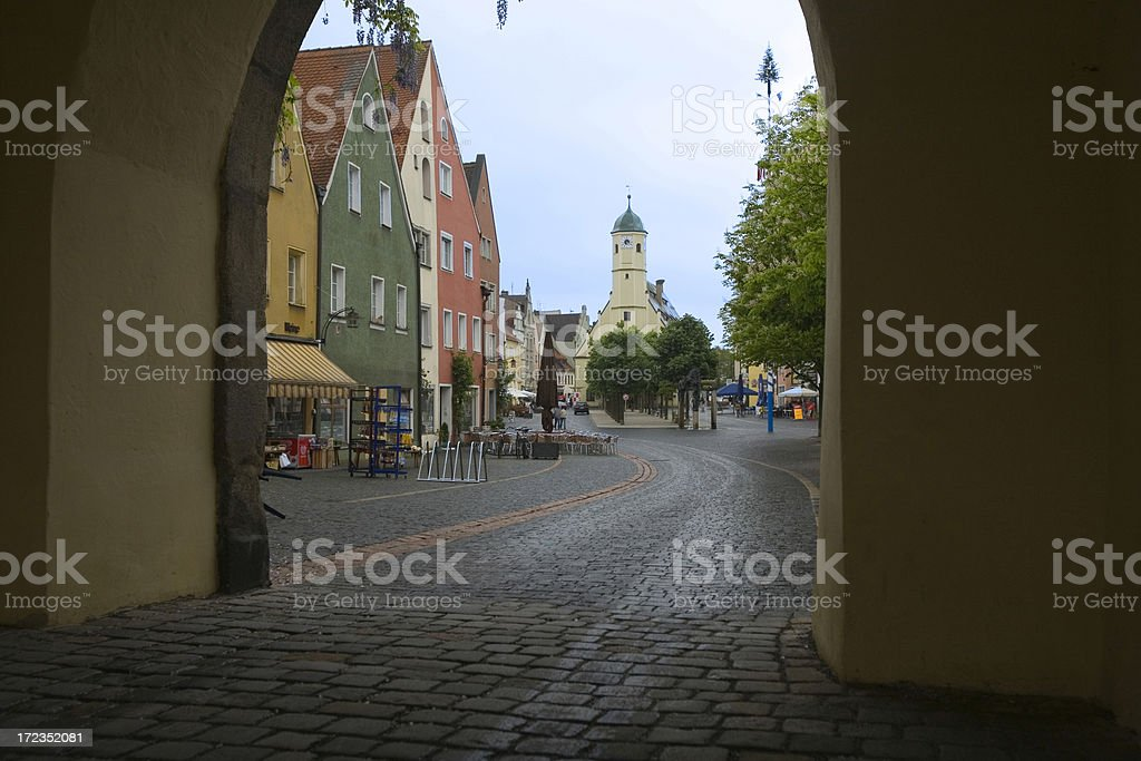 German Town royalty-free stock photo