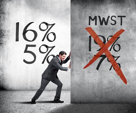 German Mwst Tax Reduction Stockfoto und mehr Bilder von 16