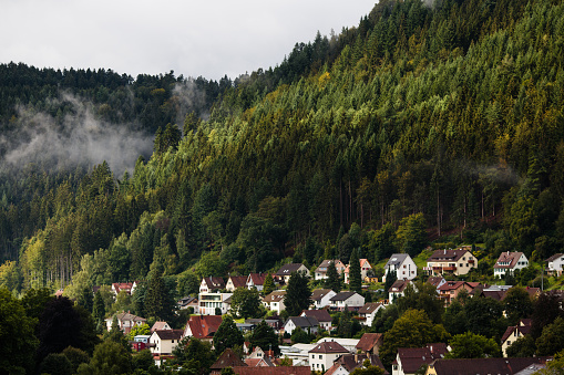 German village in Schwarzwald