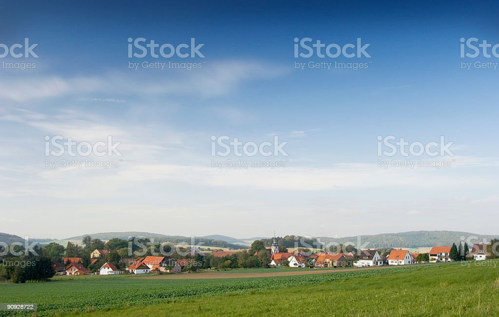 German village royalty-free stock photo