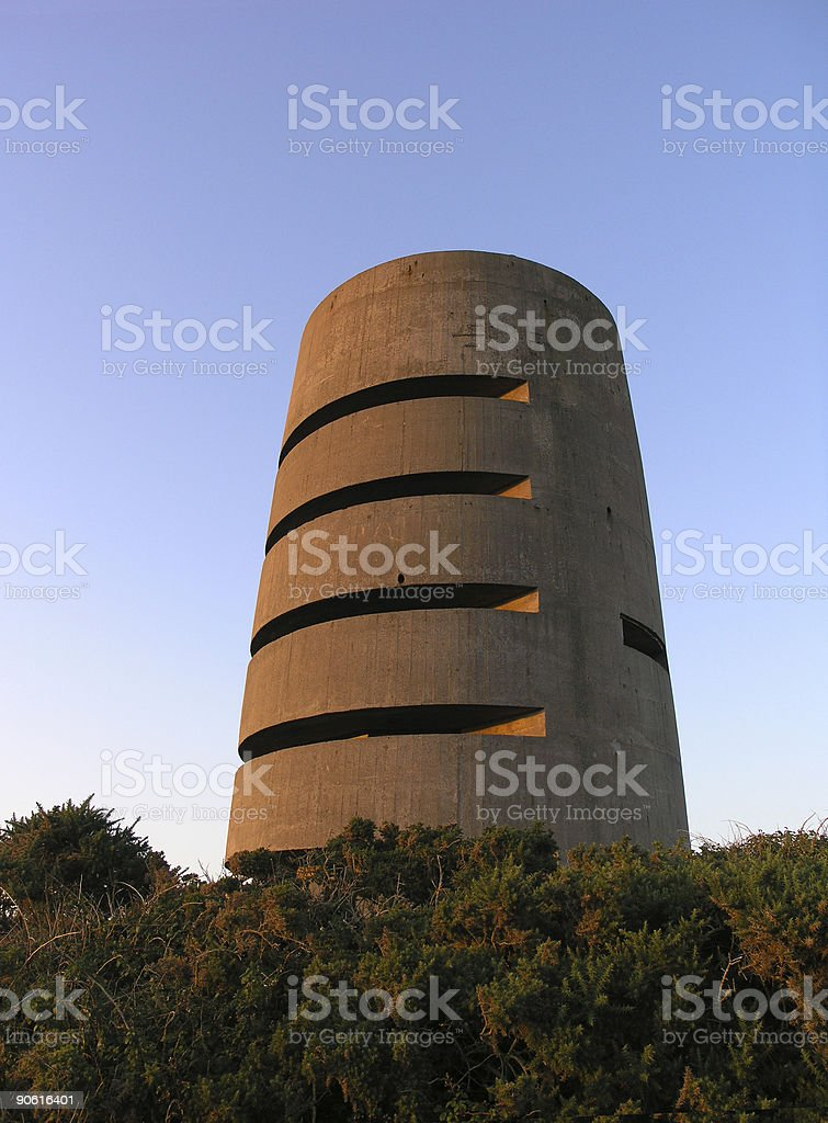 German watchtower royalty-free stock photo