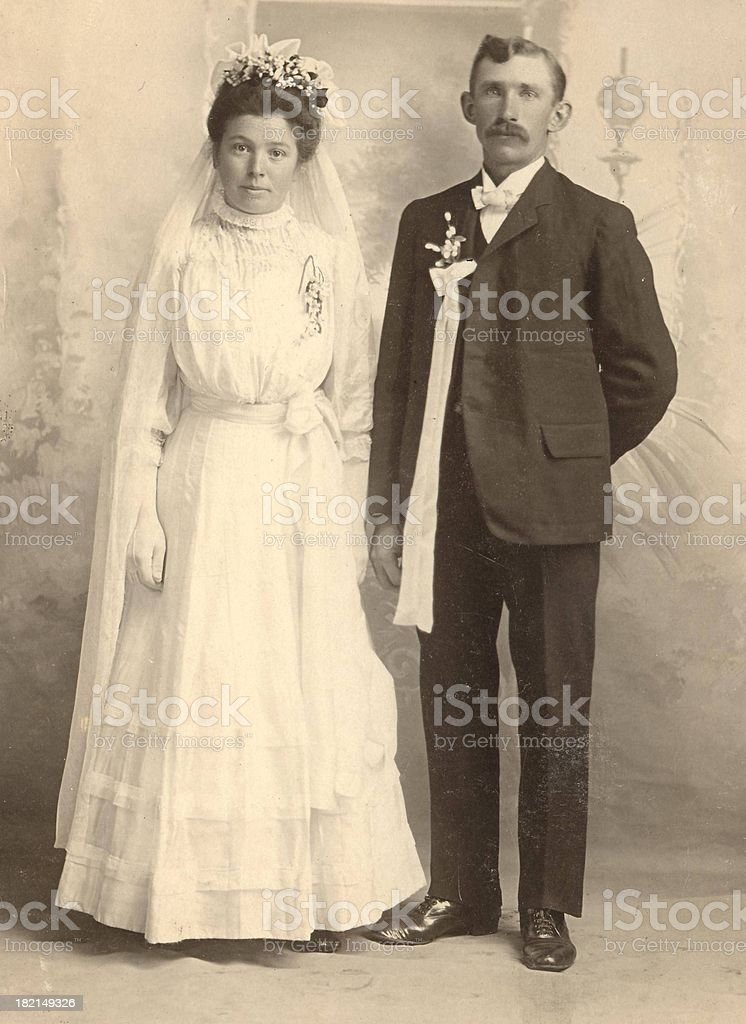 German Wedding royalty-free stock photo